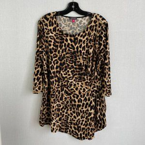 VINCE CAMUTO Leopard Printed Top